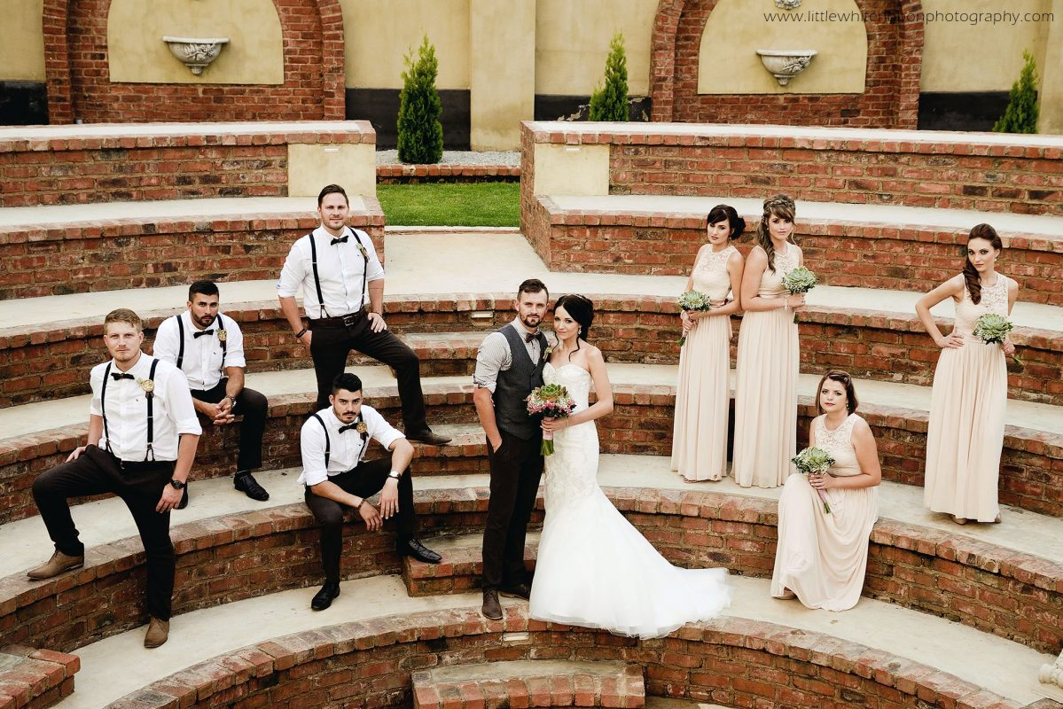 Wedding gallery - group in Amphi theatre