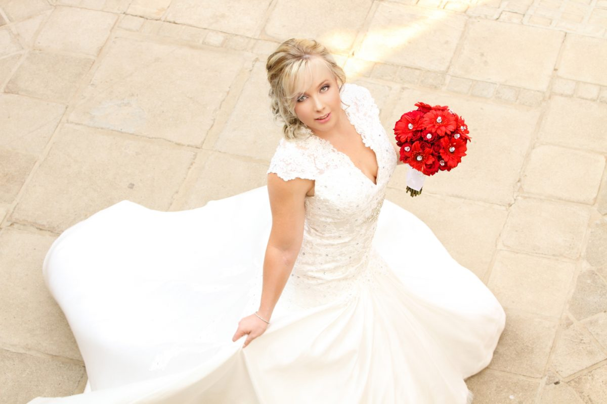 Wedding gallery - Bride entering Accolades Wedding Venue