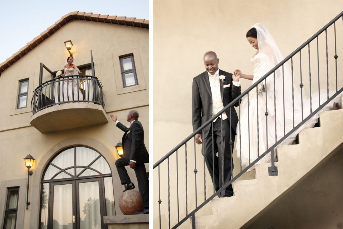 Wedding Gallery - Romeo and Juliet scene at Accolades Wedding Venue