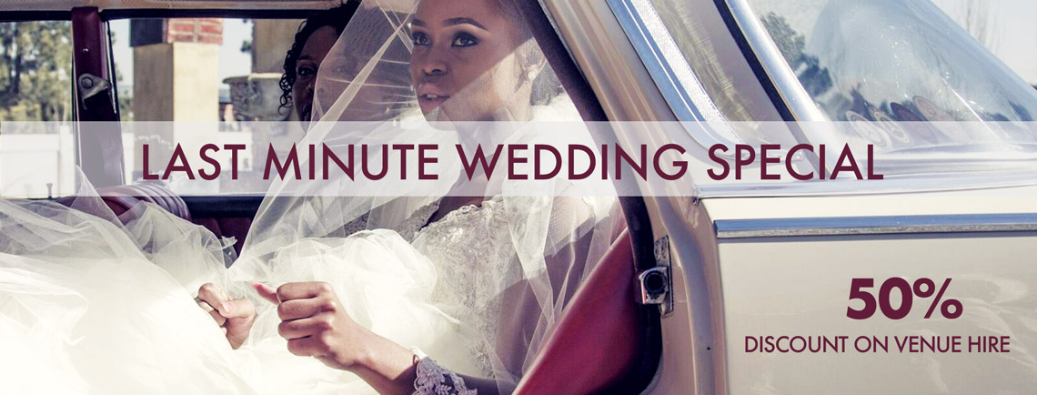 Accolades Last minute Wedding Special