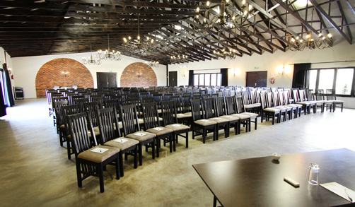 Chestnut Conference Venue Set-up