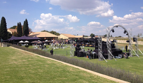 Conference Venues - Concert on Lawn