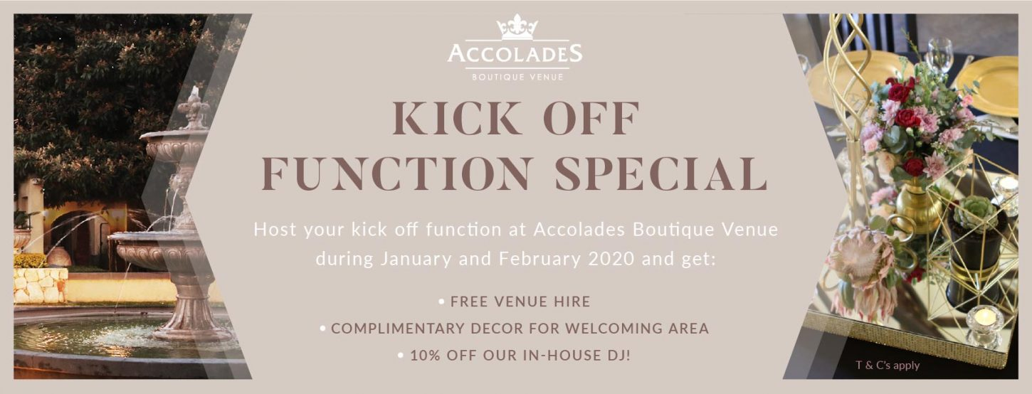 Kick-Off Function special