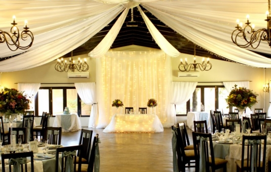 Decor set-up in Ivory Wedding Venue